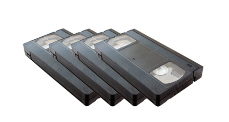 VHS tape to DVD