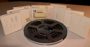 consolidating film reels for film transfer