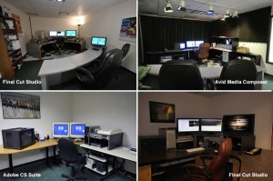 video editing suites at Rocky Mountain Audio Video Productions