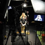video production in studio