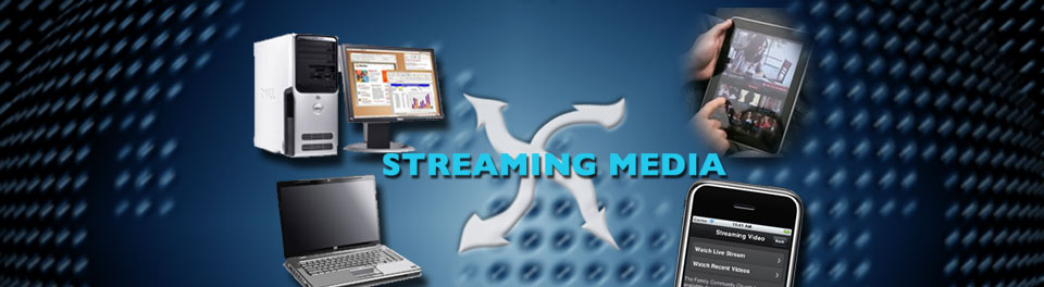 Streaming Media Services for the Web