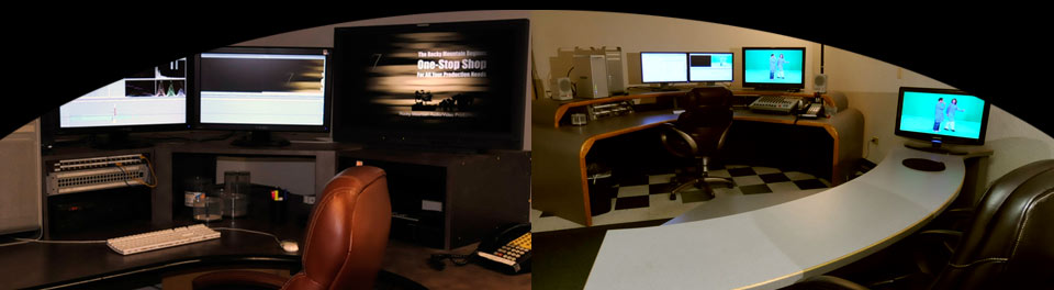 post production video editing suites